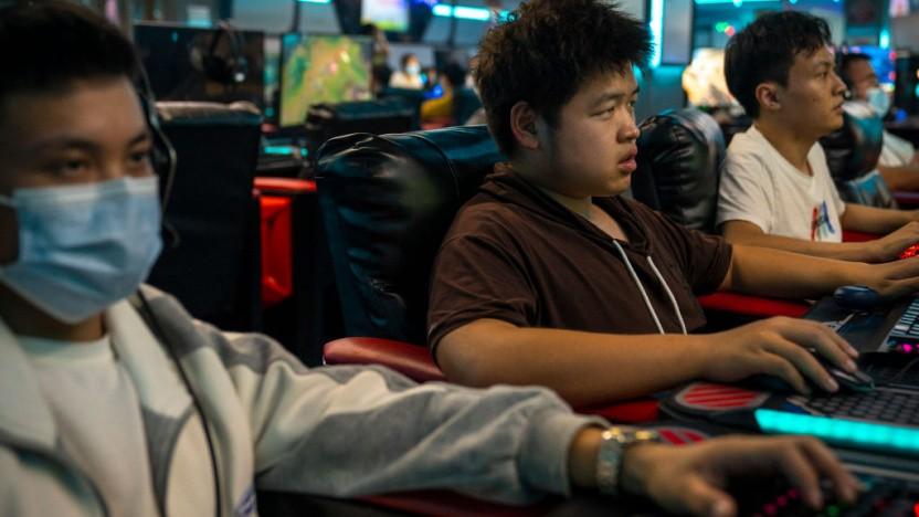 Minderjährige E-Sportler haben in China kaum noch die Möglichkeit, ausreichend zu trainieren.