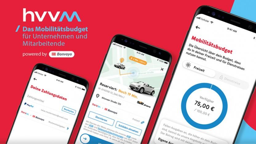App und Mobilitätsbudget sollen den Dienstwagen ersetzen.