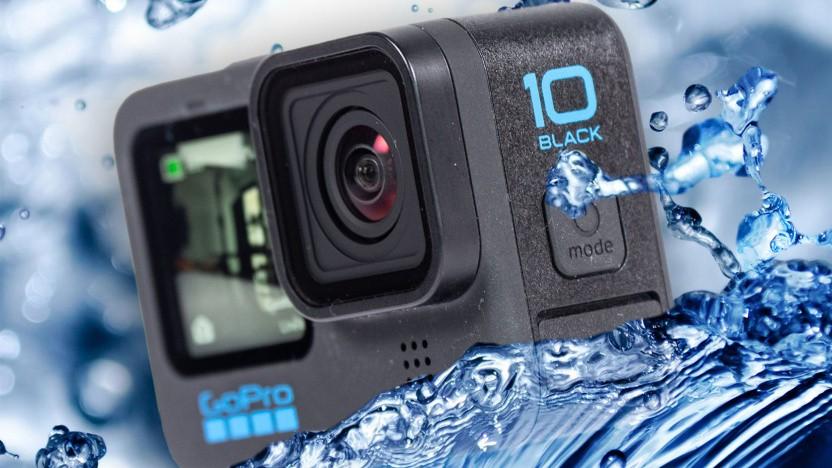 Die Hero 10 Black ist wieder bis zu 10 Meter Tiefe wasserdicht.