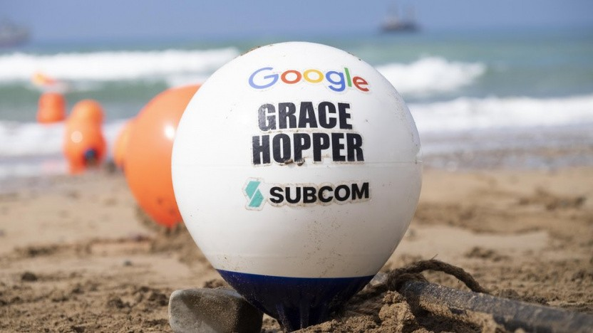 Grace Hopper kommt gut an.