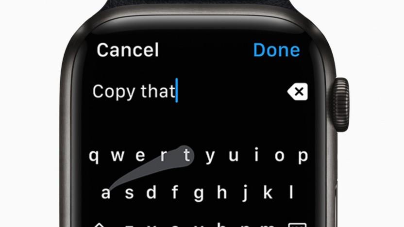 Apple soll seine Watch-Tastatur abgekupfert haben.