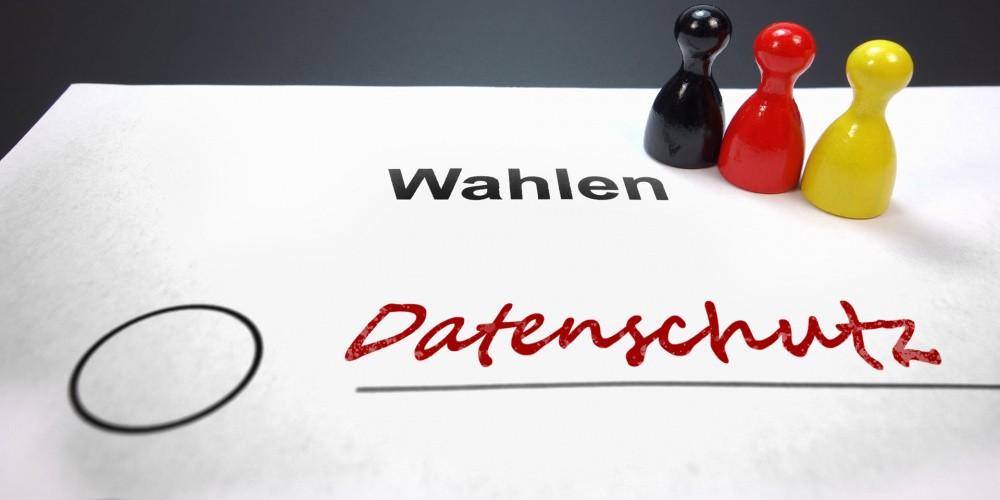 Bundestagswahl 2021: Die Parteien im Datenschutz-Check