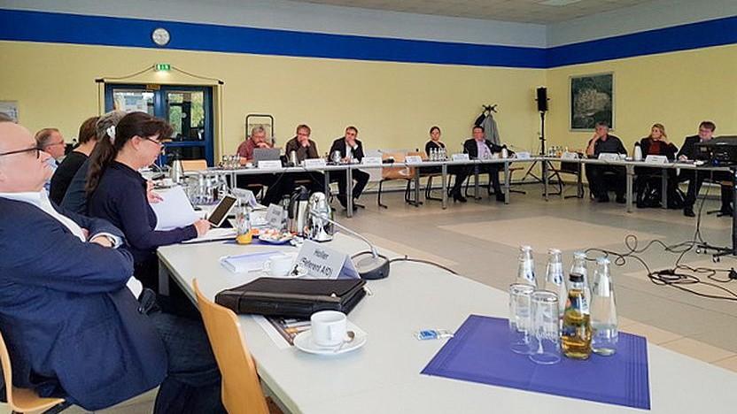 Frühere Sitzung des Wirtschaftsausschusses