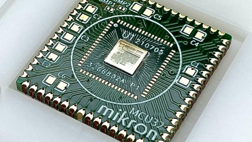 Der Mikron MIK32 ist ein RISC-V-Mikrocontroller.