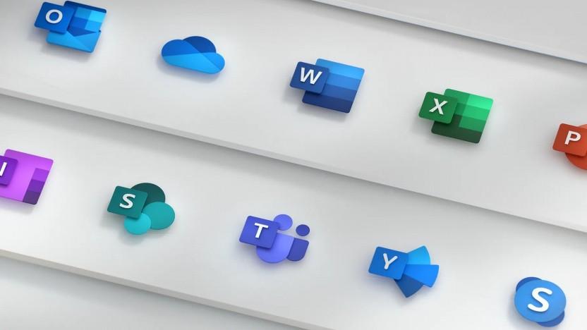 Microsoft Office - neue Icons