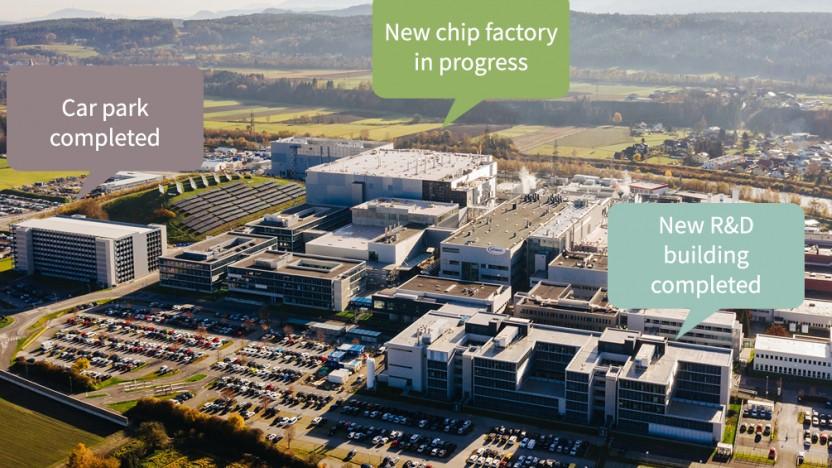 Die Chipfabrik ist vollautomatisiert.