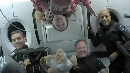 SpaceX Inspiration 4: Laien-Astronauten nach Reise ins Weltall zurück auf der Erde