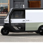 Clean Motion: Dreirad-Lastwagen Revolt soll sich per Photovoltaik aufladen
