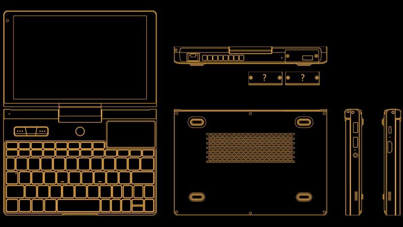 GPD zeigt erste Schemata des Pocket 3.
