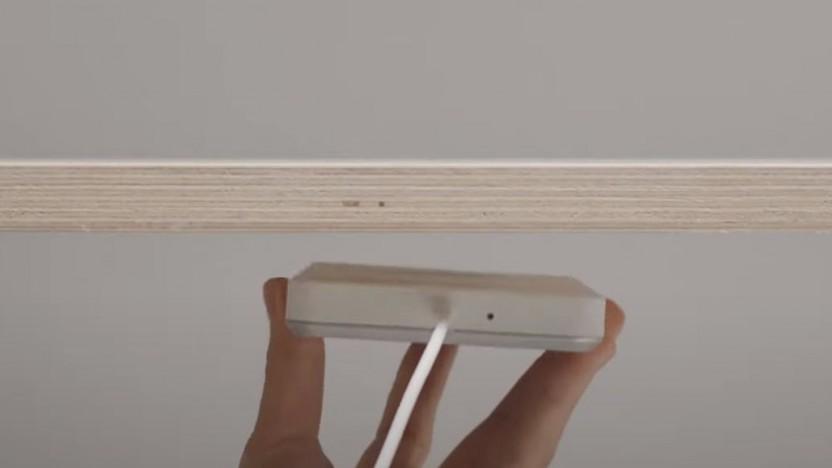 Qi-Ladegerät Sjömärke von Ikea