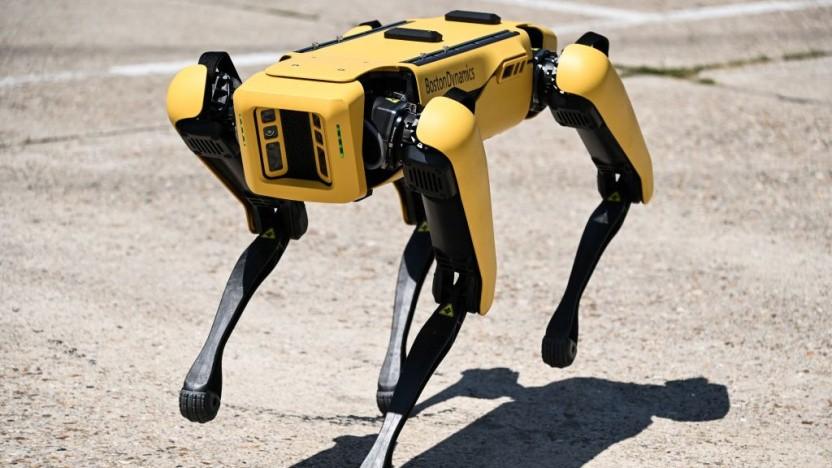 Der Roboterhund Spot ist jetzt noch autonomer unterwegs.