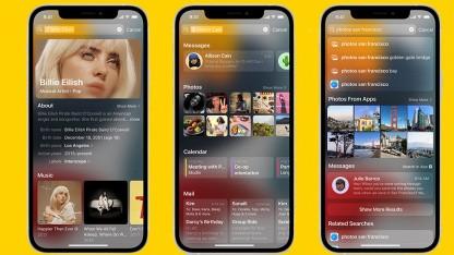 Mobiles Betriebssystem: iOS 15 mit Focus, OCR und schickem Facetime