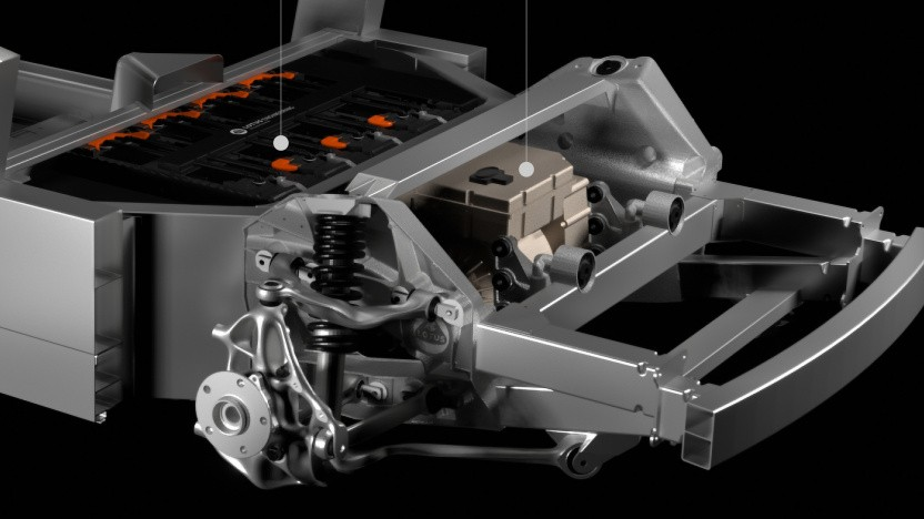 Lightweight Electric Vehicle Architecture (LEVA)