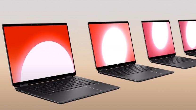 Das Spectre x360 16 verwendet ein OLED-Panel.