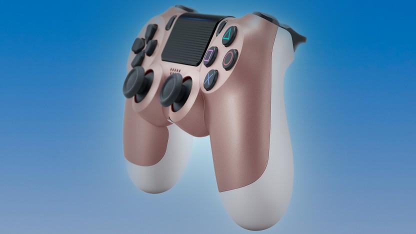 Artwork von Playstation-4-Gamepad