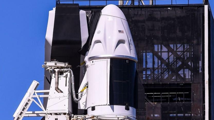 Die Crew-Dragon-Raumkapsel hatte während der Inspiration4-Mission Probleme mit der Toilette.