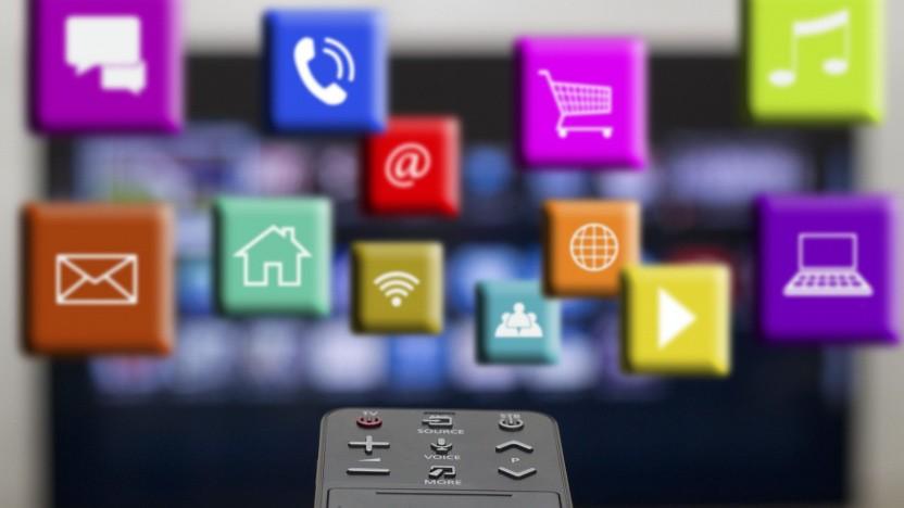 Aktivierung eines Smart TV