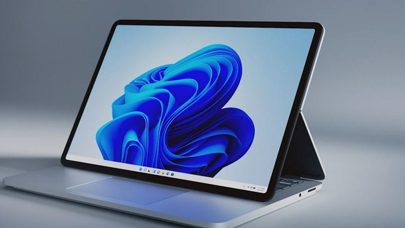 Der Surface Laptop Studio hat ein ungewöhnliches Scharnier.