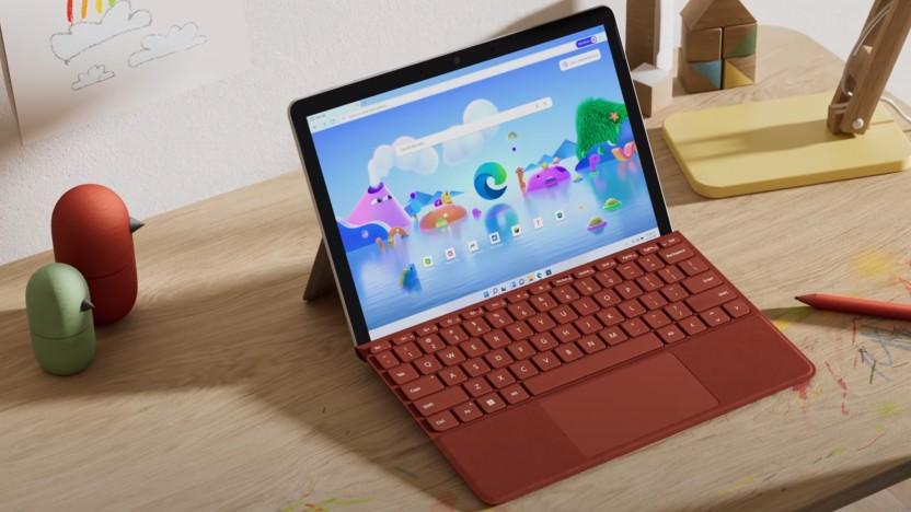 Das Surface Go 3 ist Microsofts neues kleines Tablet mit Windows 11.
