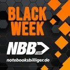 Anzeige: 50 Prozent Rabatt bei NBBs Black Week