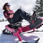 Arosno E-Trace: E-Bike als Snowmobil mit Raupenantrieb