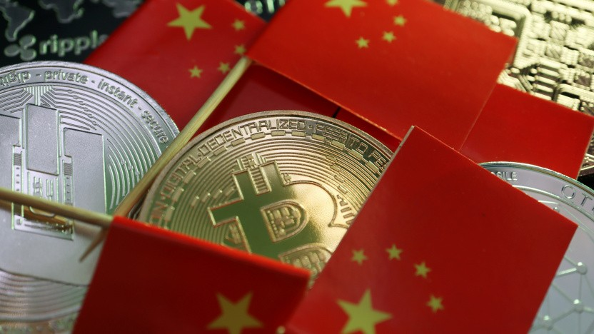 China verbietet den Handel mit Bitcoin.
