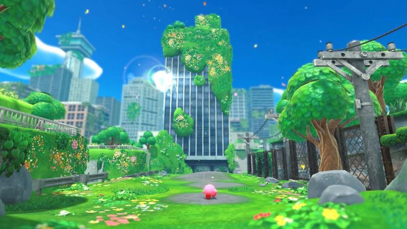 Artwork von Kirby und das vergessene Land