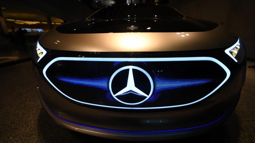 Mercedes Concept EQA im September 2021