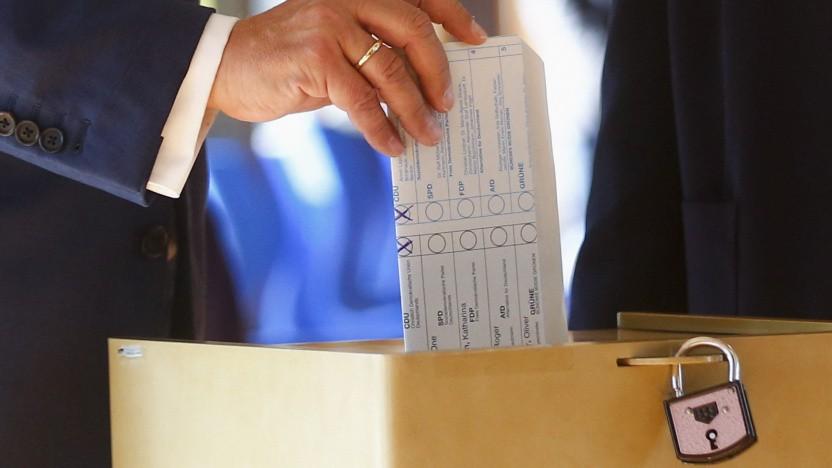 CDU-Kanzlerkandidat Armin Laschet hat offensichtlich seine eigene Partei gewählt.