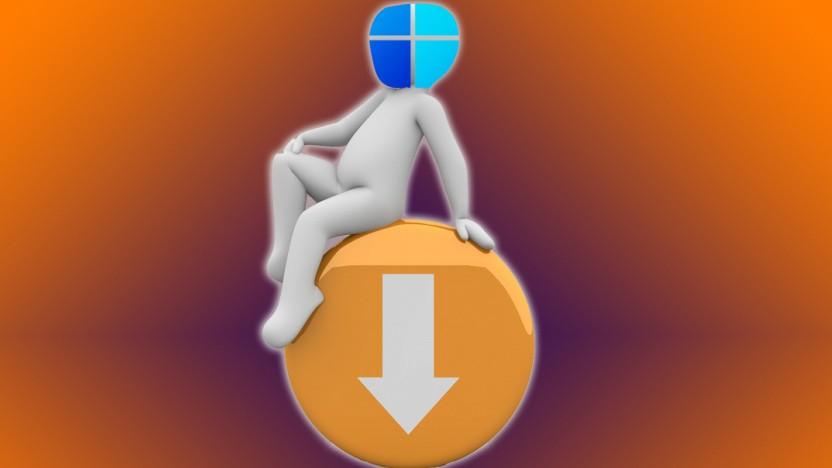 Windows 11 wird per Windows Update heruntergeladen.