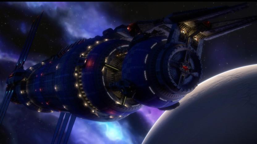 Die Raumstation Babylon 5 ist der zentrale Schauplatz der gleichnamigen Serie.