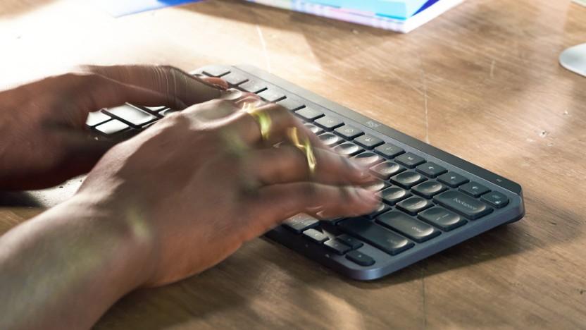 Die MX Keys Mini verzichtet auf den Nummernblock.
