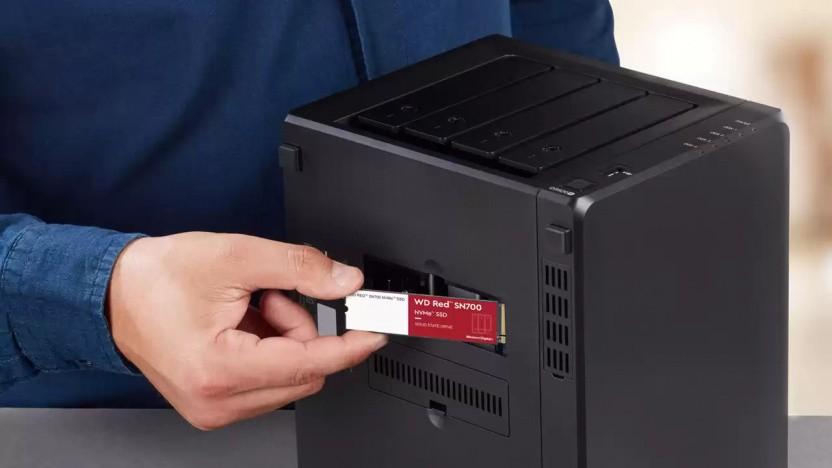 Die WD Red SN700 für NAS-Systeme