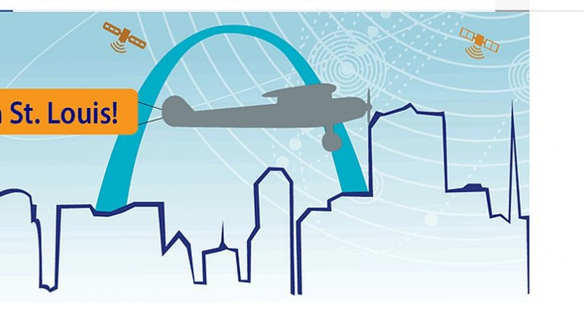 Logo der Jahrestagung des Institute of Navigation in St. Louis