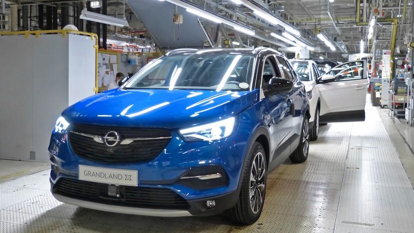 Das Opel-Werk in Eisenach produziert den Grandland X.