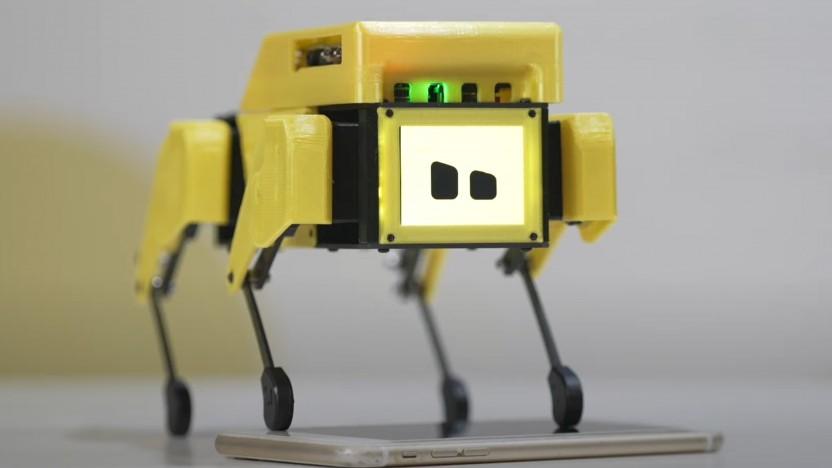 Der Mini Pupper ist ein kleiner Roboter.