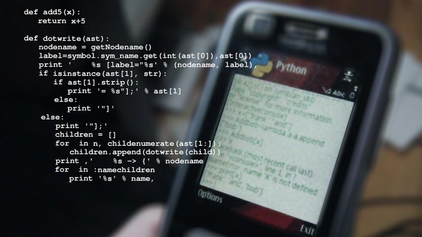Python ist die zweitbeliebteste Programmiersprache