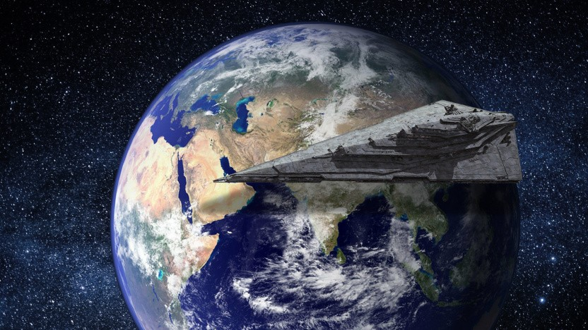 Die Erde ist im Star-Wars-Universum nicht leicht zu finden.