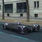 Urban Collëctif: Citroën motorisiert Riesen-Skateboards für den Stadtverkehr