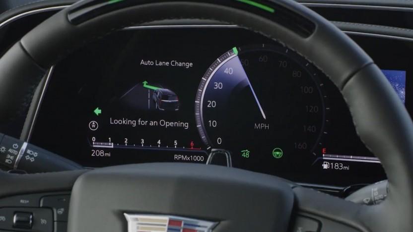 Cadillac Escalade Supercruise