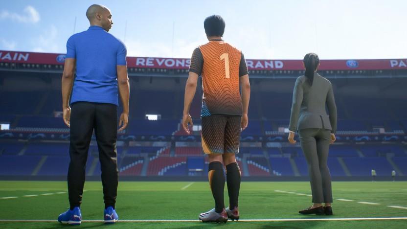 Der Tutorialmodus von Fifa 22 (PS5)