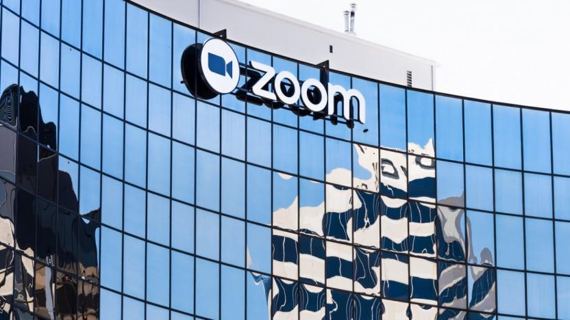 Unternehmenszentrale von Zoom in den USA
