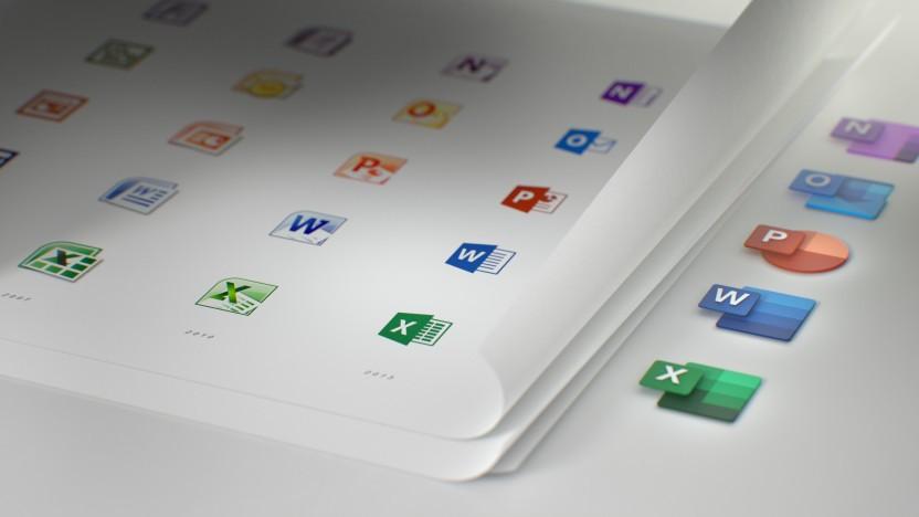 Aktuelle Logos von Microsoft 365