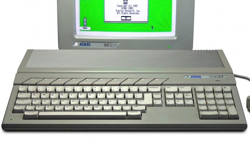 Ein Atari 1040ST