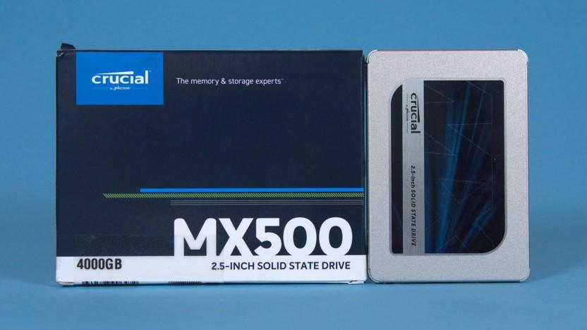 Crucial MX500 mit 4 TByte im Test
