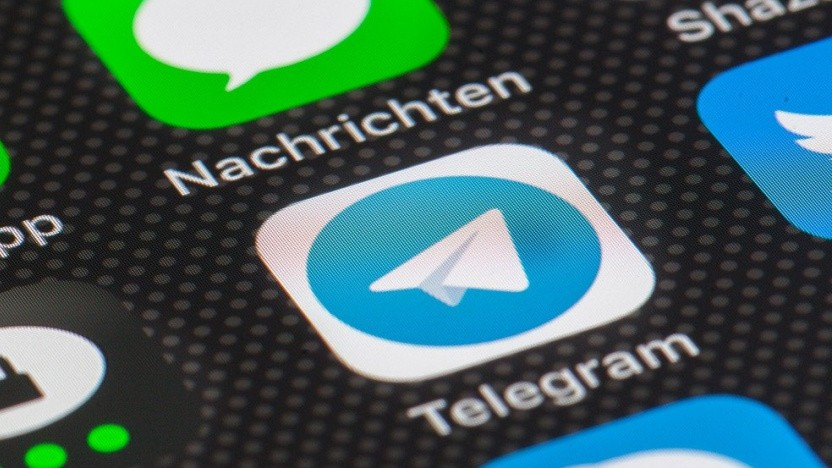 Telegram hat Nachrichten nicht zuverflässig gelöscht.