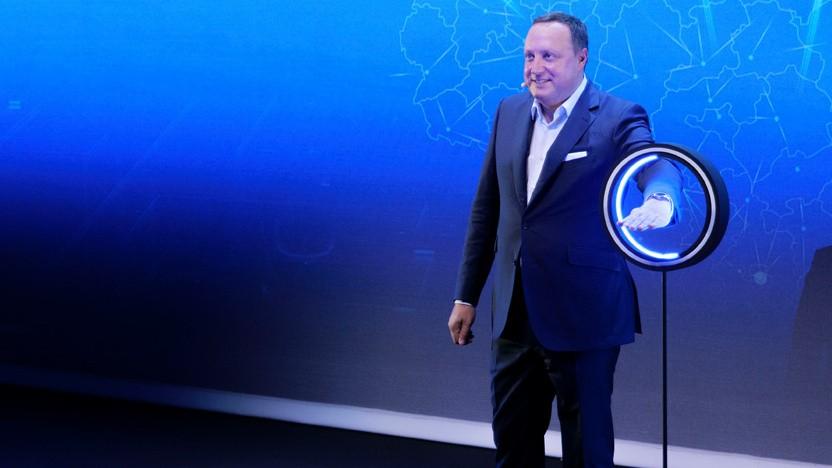 Vor einem Jahr wurde 5G von Unternehmenschef Markus Haas gestartet.