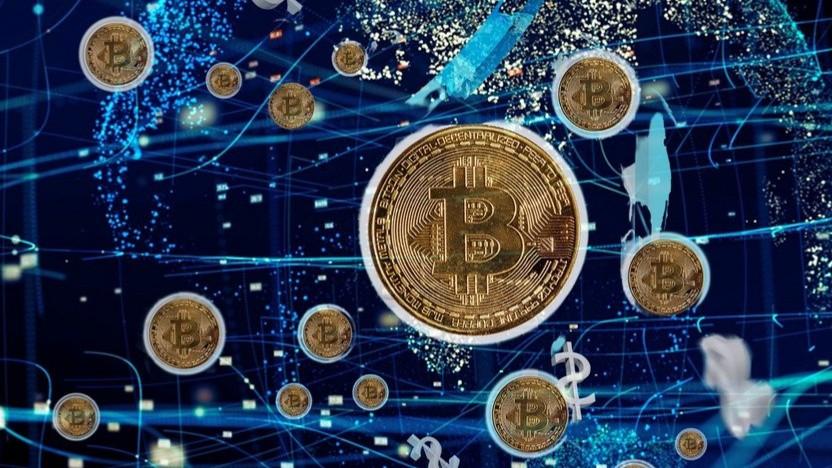 Der Bitcoin ist momentan mal wieder im Aufwind.