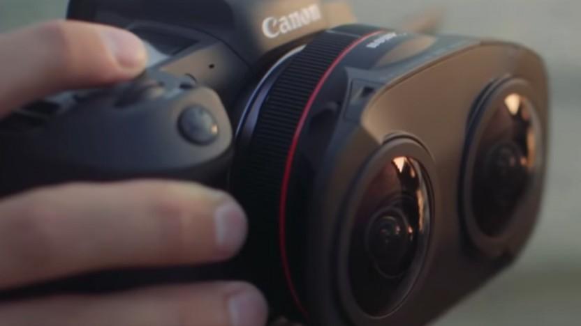 RF5.2mm F2.8 L Dual Fisheye Lens