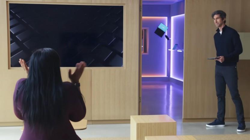 Wow, ein Showroom mit Intel-Laptops!